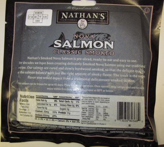 Smoked Salmon Brands  Smoked Salmon Recalled for Listeria Potential
