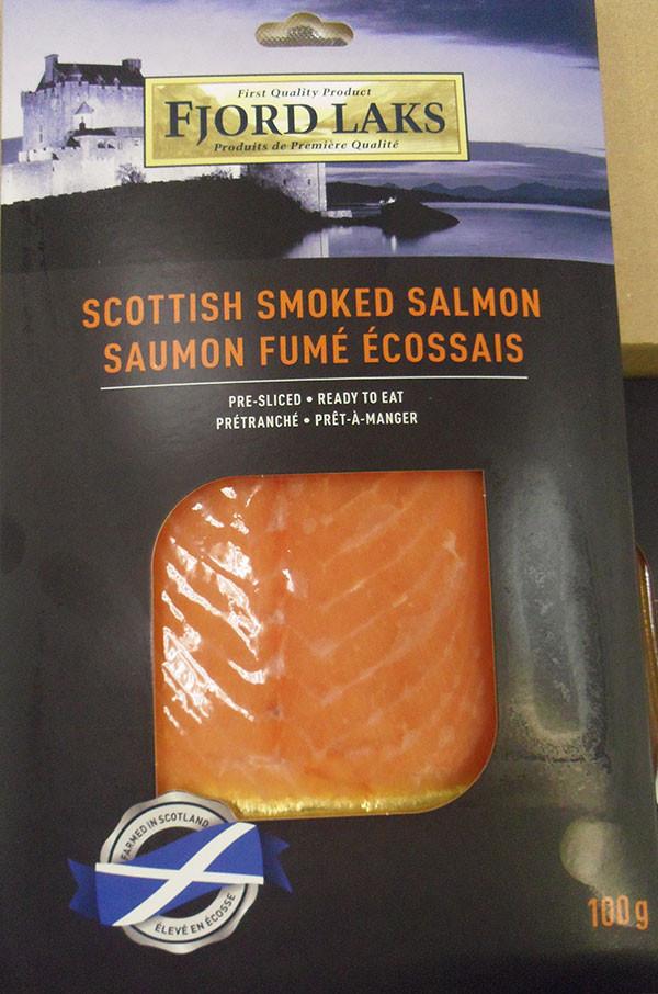 Smoked Salmon Brands  Fjord Laks brand Scottish smoked salmon recalled due to