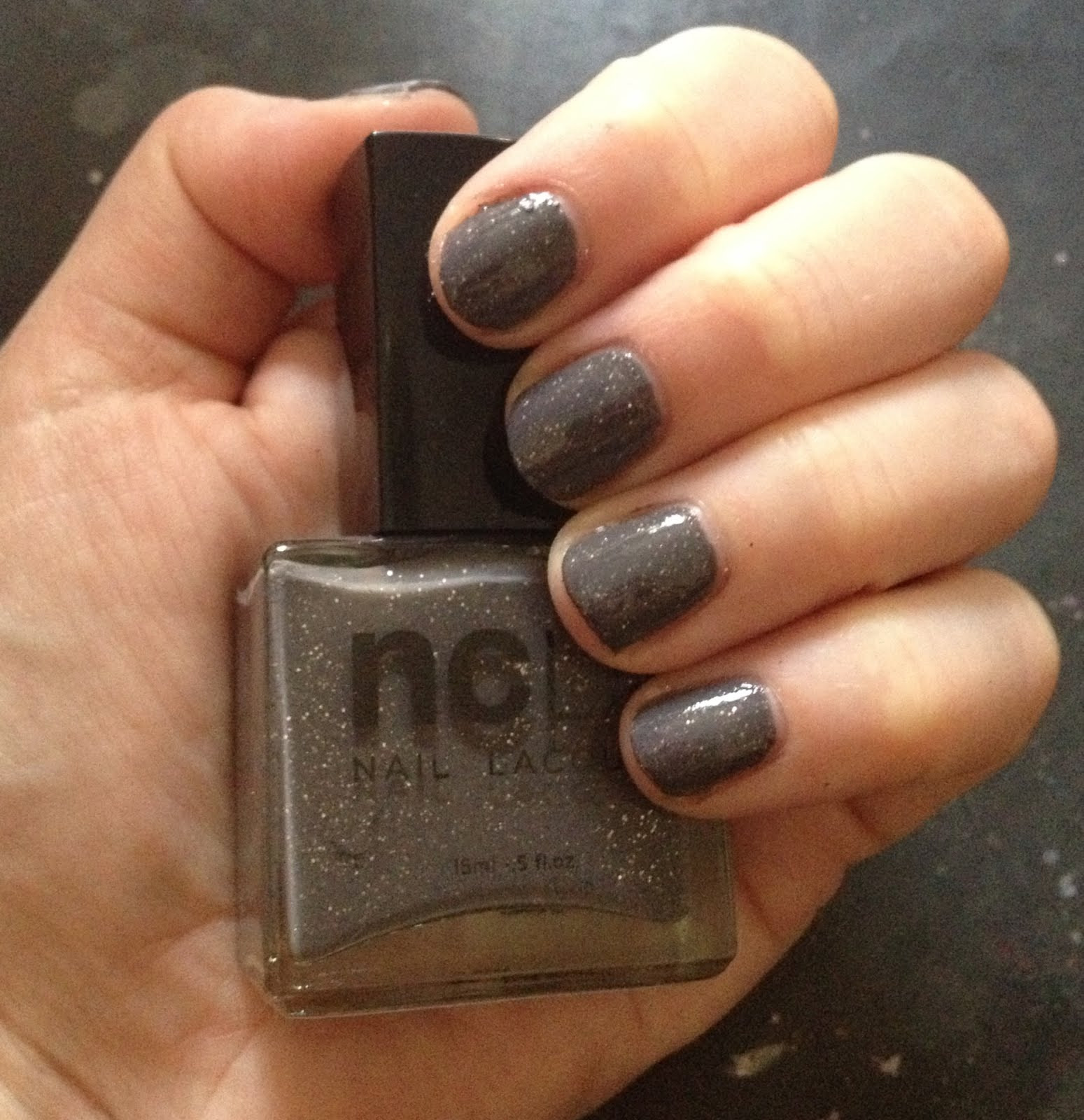 Solid Nail Colors  The Beauty of Life My Latest Mani NCLA Rock Solid