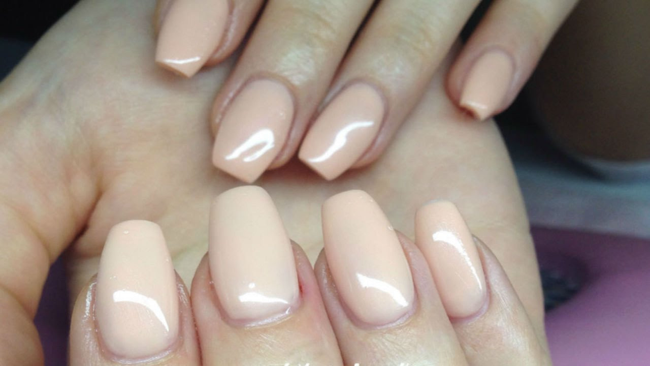 Solid Nail Colors  How to Easy solid color Gelnails