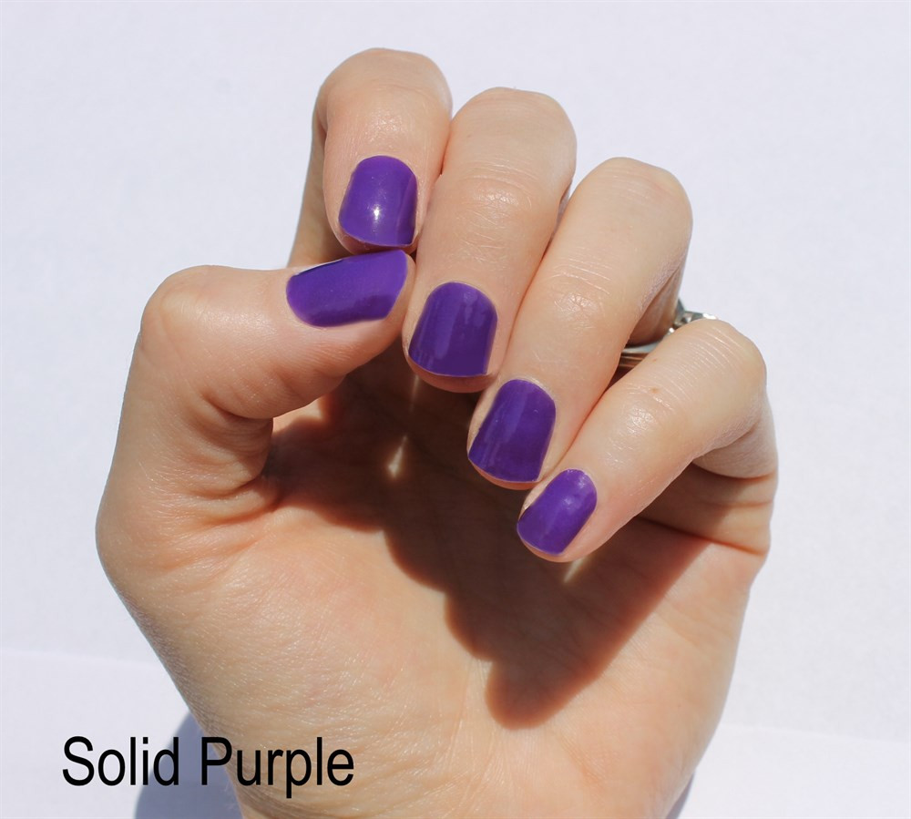 Solid Nail Colors  Solid Color Nail Wraps