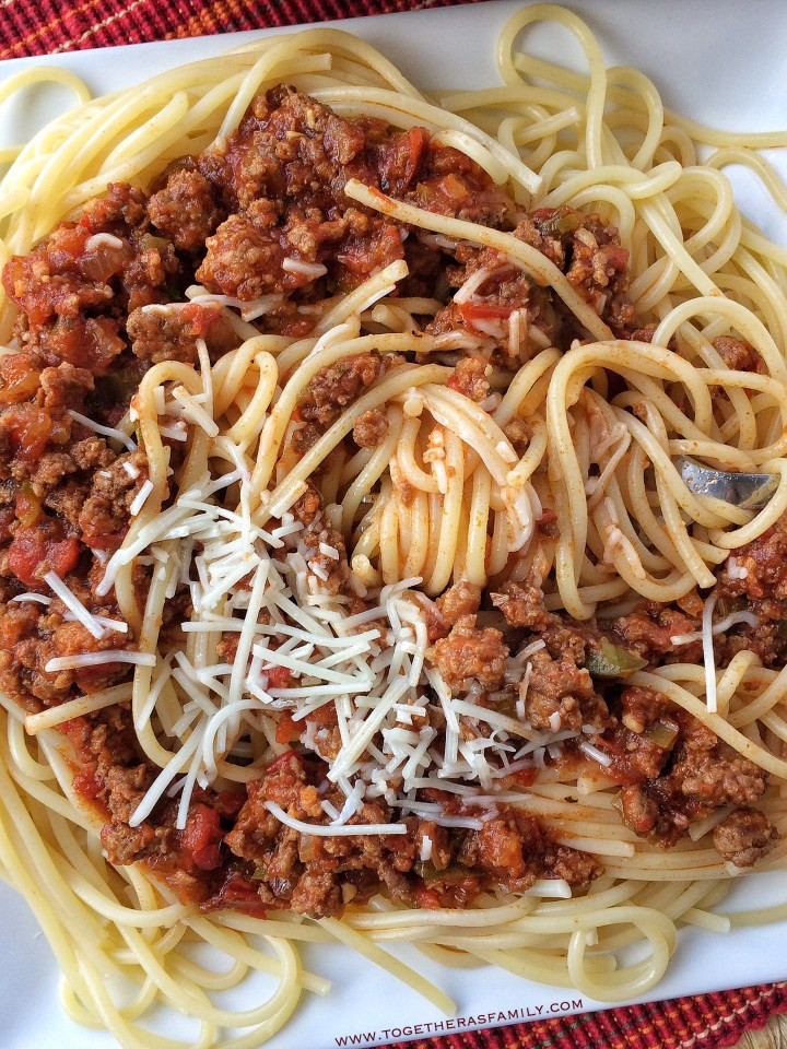 Spaghetti With Italian Sausage  Slow Cooker Italian Sausage and Beef Spaghetti Sauce