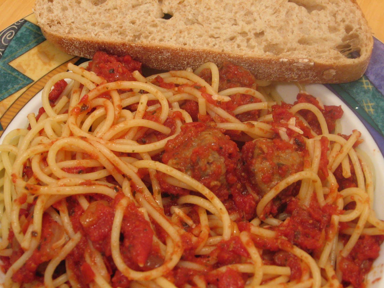 Spaghetti With Italian Sausage  Jenn s Food Journey Spaghetti with Hot Italian Sausage