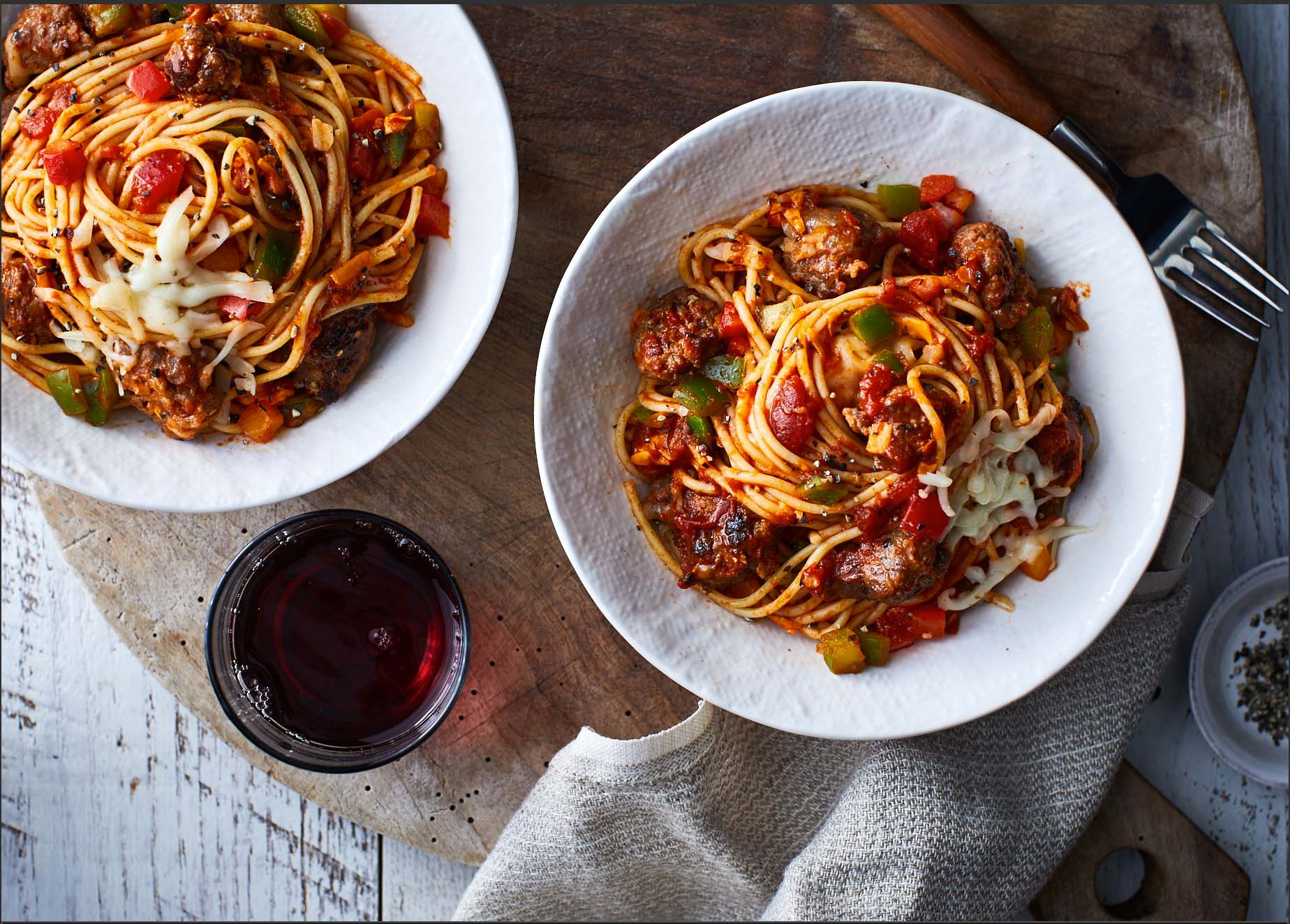 Spaghetti With Italian Sausage  Slow Cooker Four Cheese Spaghetti with Italian Sausage