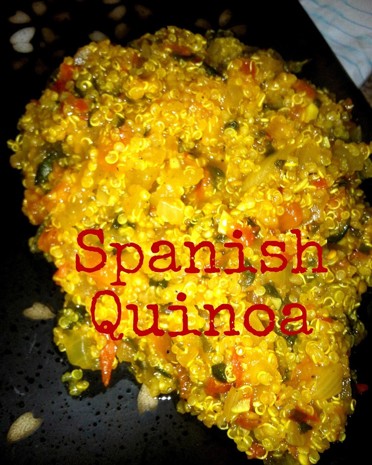 Spain Side Dishes  Spanish Quinoa Healthy Side Dish