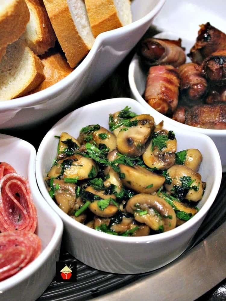 Spain Side Dishes  Champinones Al Ajillo Spanish Garlic Mushrooms is a