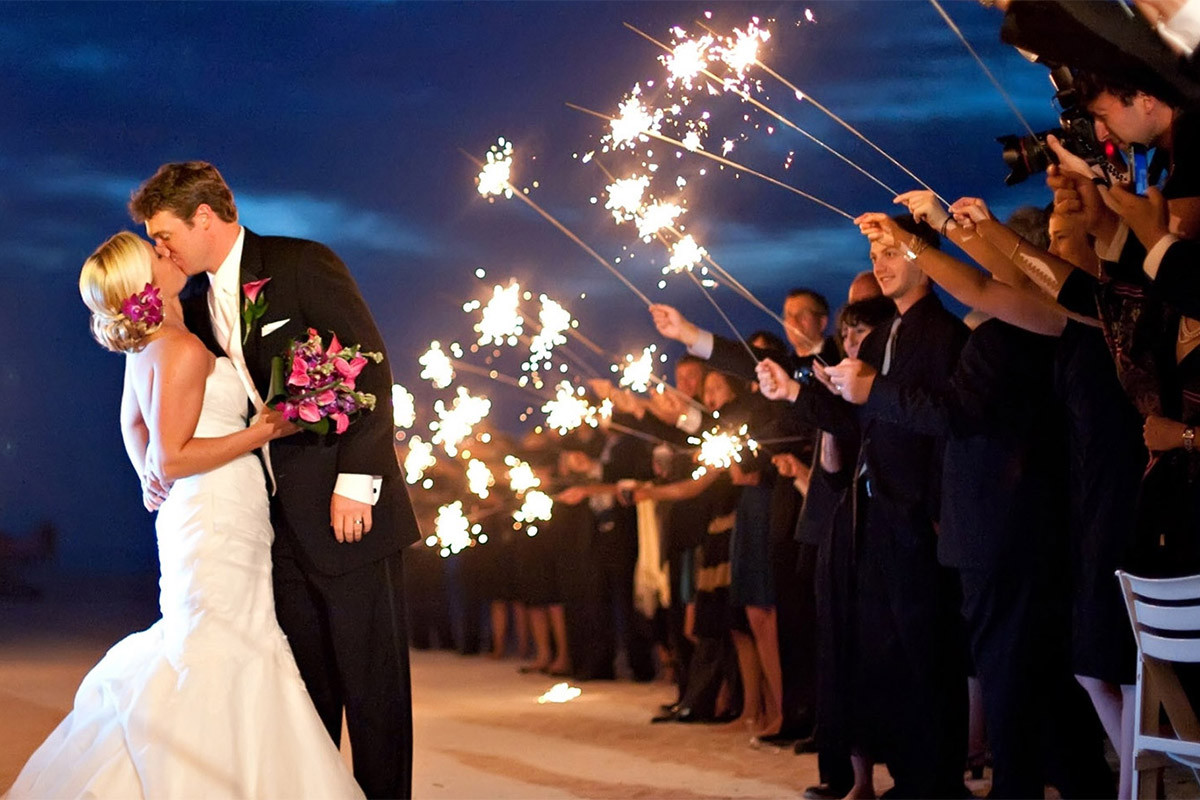 Sparkler Wedding Exit  36 Inch Wedding Sparklers