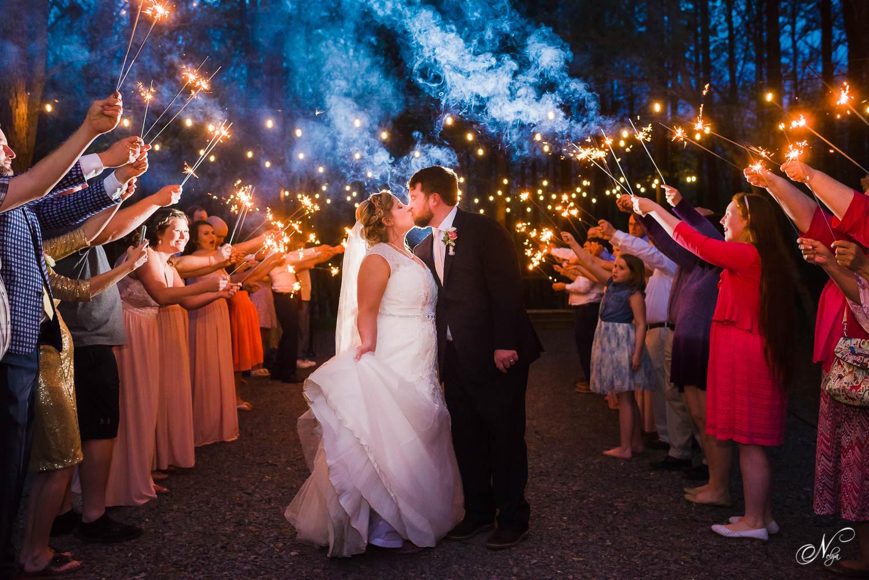 Sparkler Wedding Exit  Wedding Sparklers What kind should I Tips for better