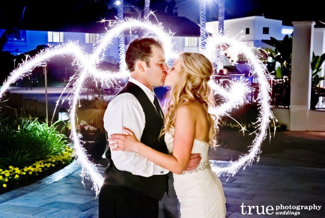 Sparkler Wedding Exit  Wedding Sparkler Send fs and Firework Shows