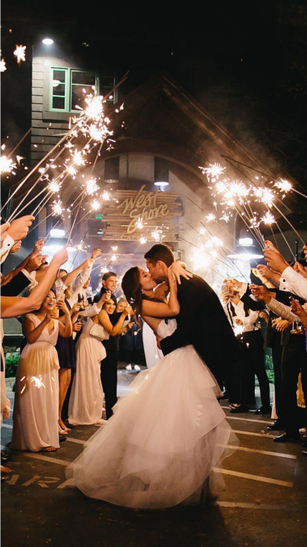 Sparkler Wedding Exit  Wedding Sparklers Sparklers Sale