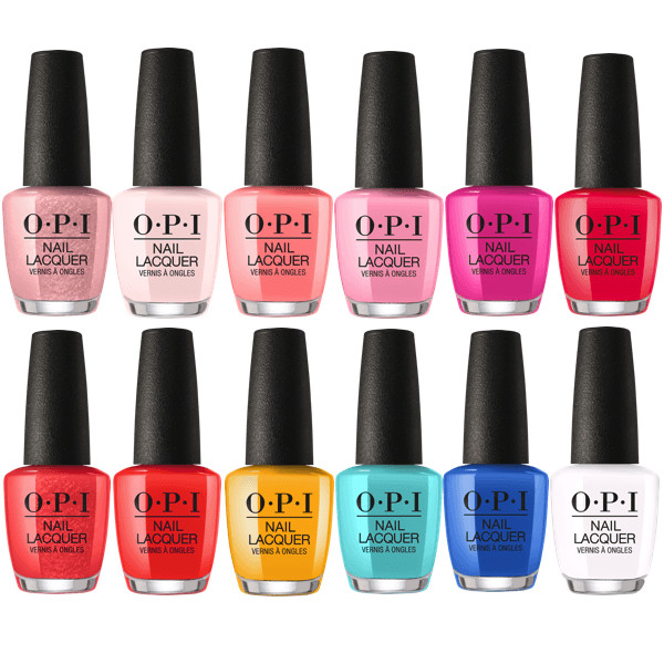 Spring Nail Colors Opi  OPI Lacquer Spring 2018 Lisbon Collection Set 12