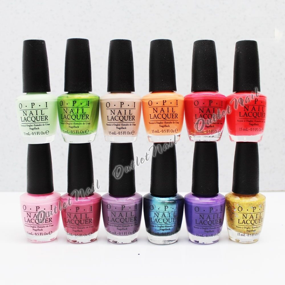 Spring Nail Colors Opi  OPI Nail Lacquer HAWAII COLLECTION Spring Summer 2015