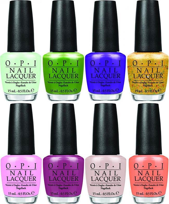 Spring Nail Colors Opi  OPI Hawaii Spring 2015 Nail Polish Collection