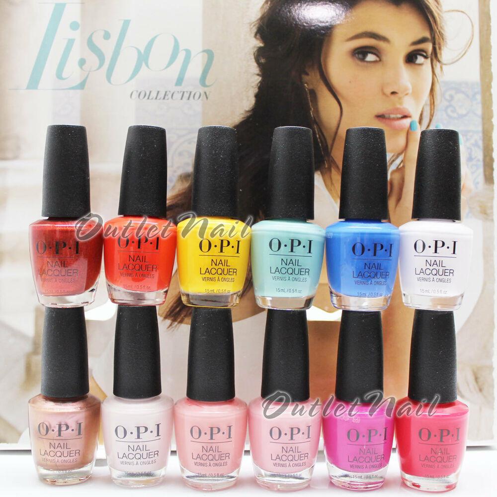 Spring Nail Colors Opi  OPI Nail Polish Lacquer LISBON Collection SPRING SUMMER