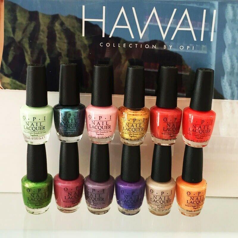 Spring Nail Colors Opi  OPI Spring Summer 2015 HAWAII Collections Nail Polish 0 5