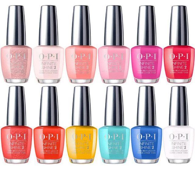 Spring Nail Colors Opi  The Top 4 New Spring Nail Polish Collections to Covet