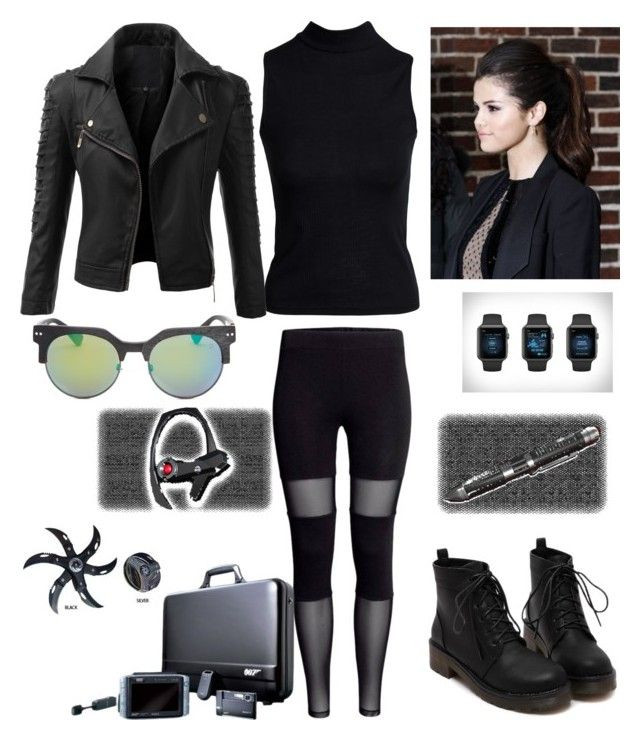 """Spy Costume DIY  """"halloween spy outfit"""" by ashbash9692 liked on Polyvore"""