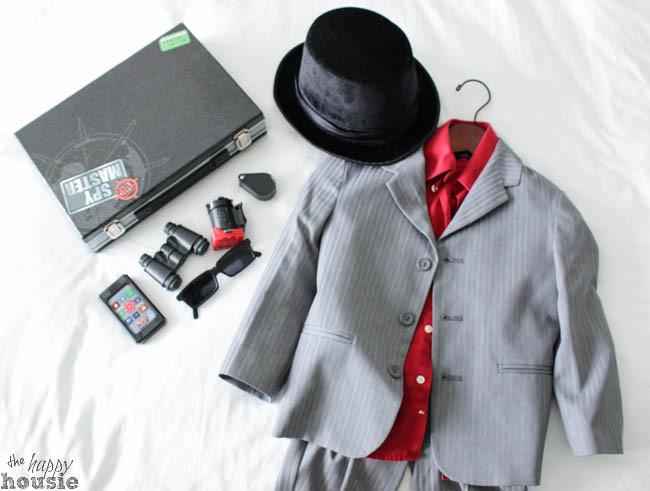 Spy Costume DIY  Thrifted Gentleman Spy DIY Halloween Costume The Happy
