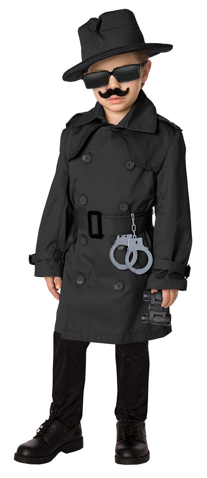Spy Costume DIY  Die besten 25 Detective costume Ideen auf Pinterest