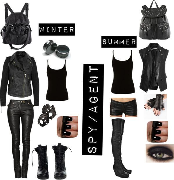 Spy Costume DIY  8 best spy outfit images on Pinterest