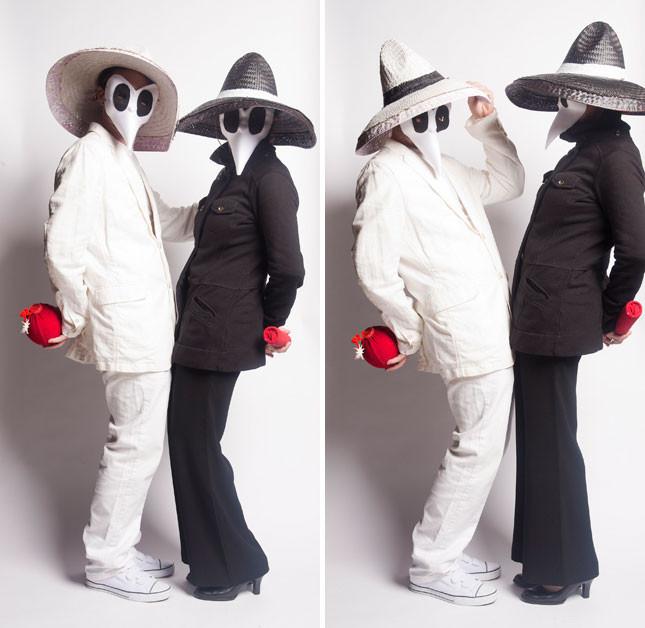 Spy Costume DIY  25 Genius DIY Couples Costumes
