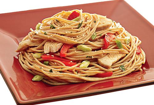 Stir Fry Spaghetti  Ronzoni Spaghetti Chicken Stir Fry The Pasta That