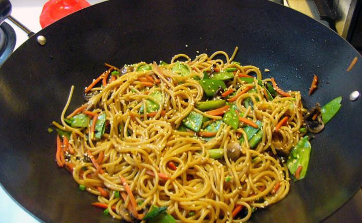 Stir Fry Spaghetti  Spicy Asian Stir Fry Spaghetti – Rosemarie s Kitchen