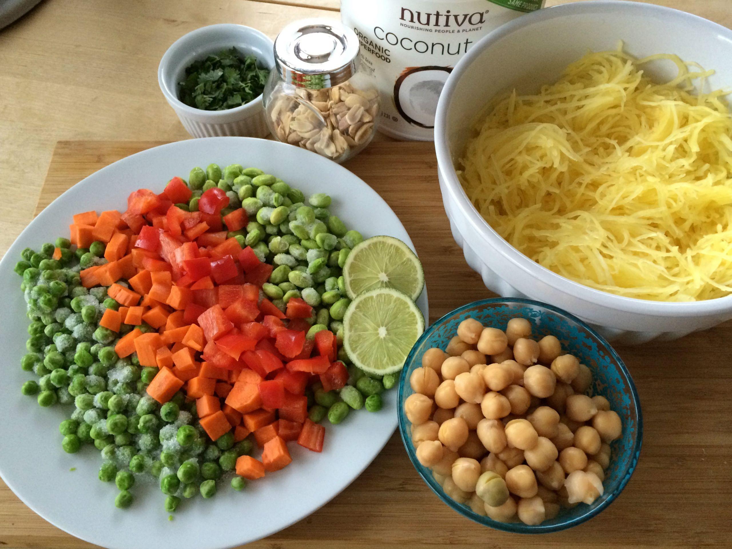 Stir Fry Spaghetti  Stir Fried Spaghetti Squash – The Sisters Kitchen