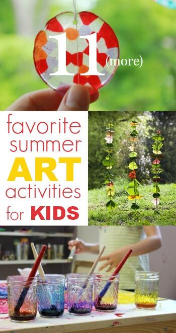 Summer Art Project For Kids  11 More Favorite Summer Art Activities for Kids