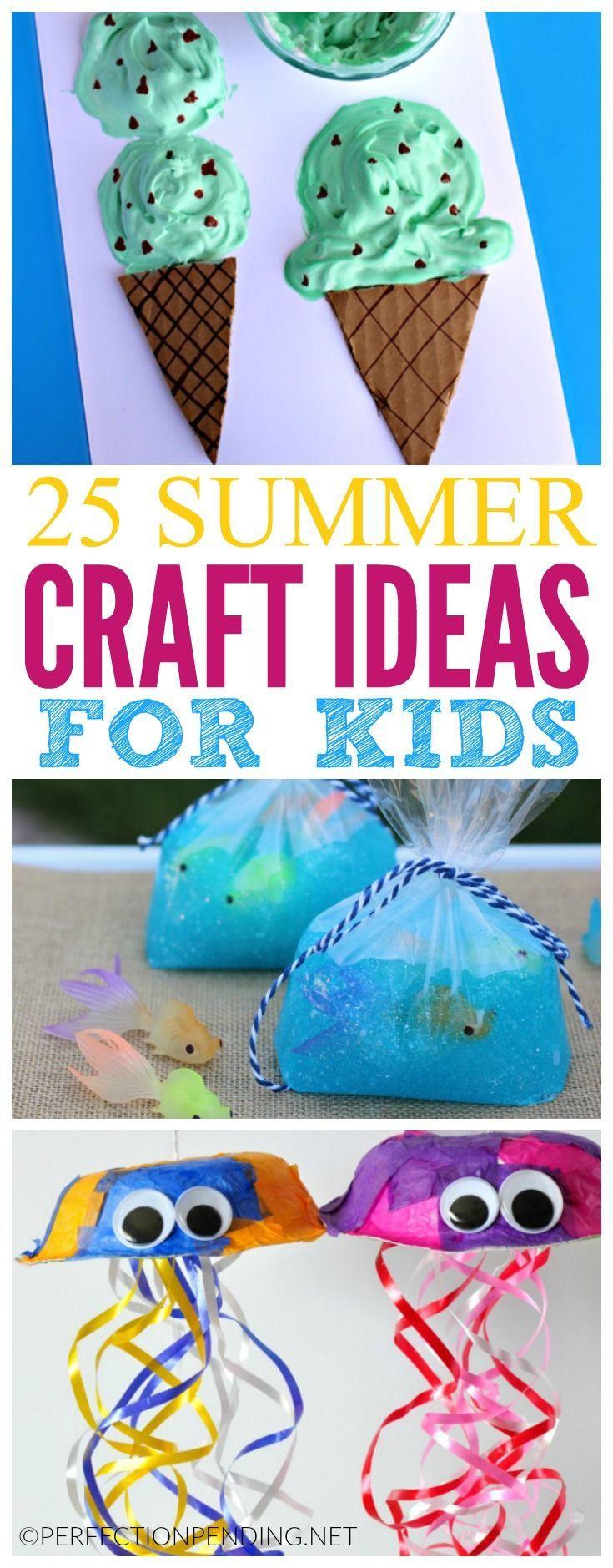 Summer Art Project For Kids  1474 best Spring & Summer Kids Crafts & Activities images
