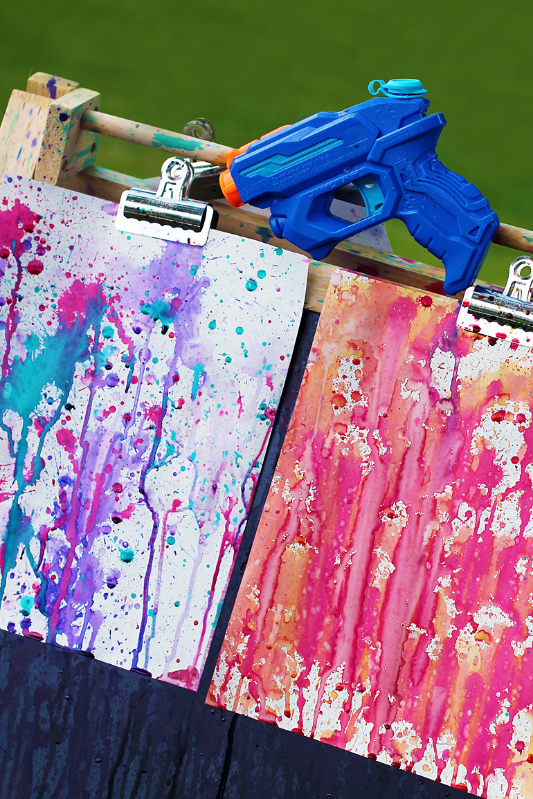 Summer Art Project For Kids  20 Easy Summer Crafts for Kids A Little Craft In Your Day