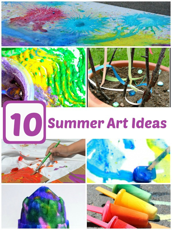 Summer Art Project For Kids  10 Summer Art Projects for Kids