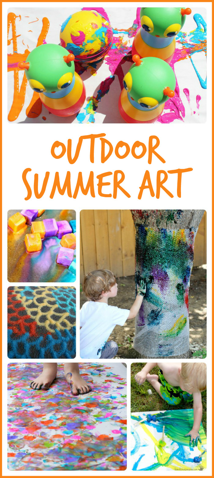 Summer Art Project For Kids  15 Summer Art Projects to Try Outside