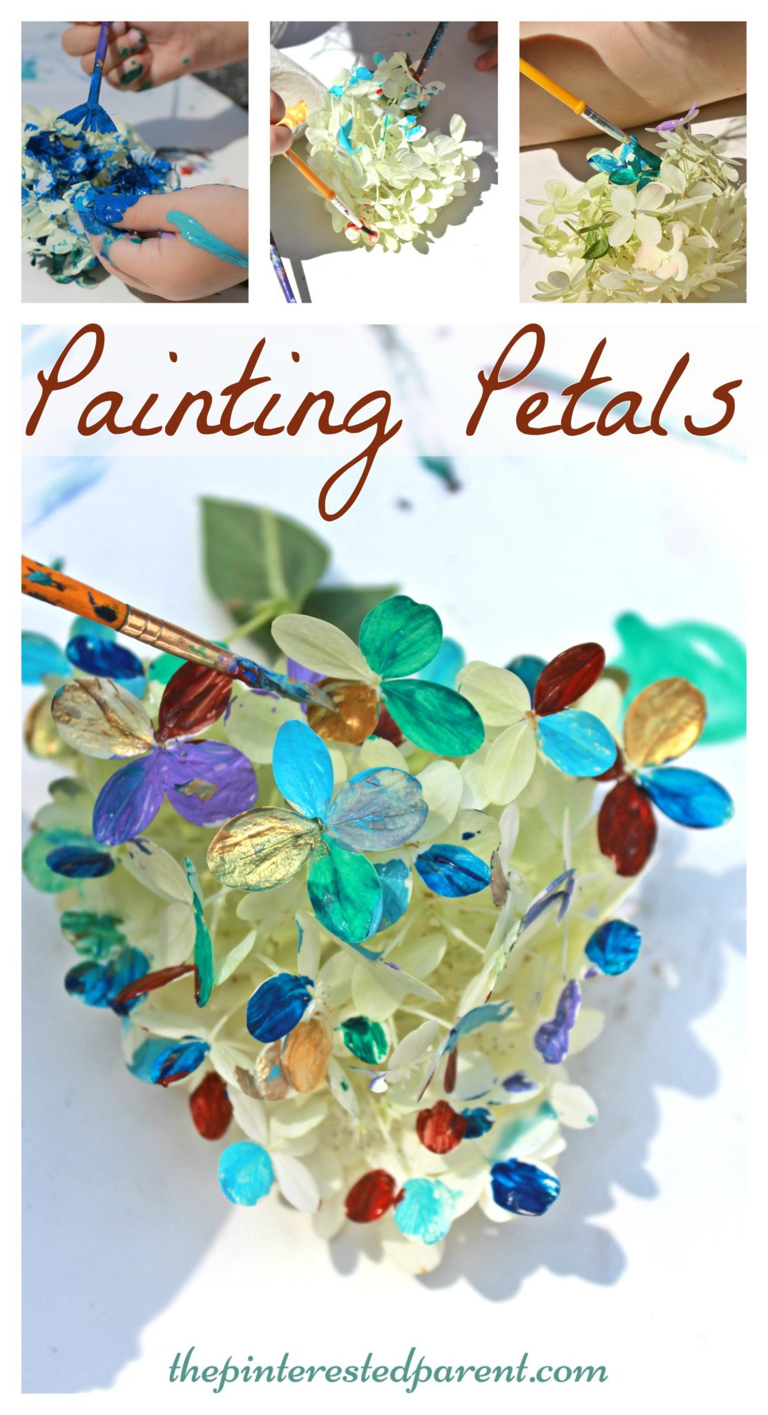 Summer Art Project For Kids  flowers Archives – The Pinterested Parent