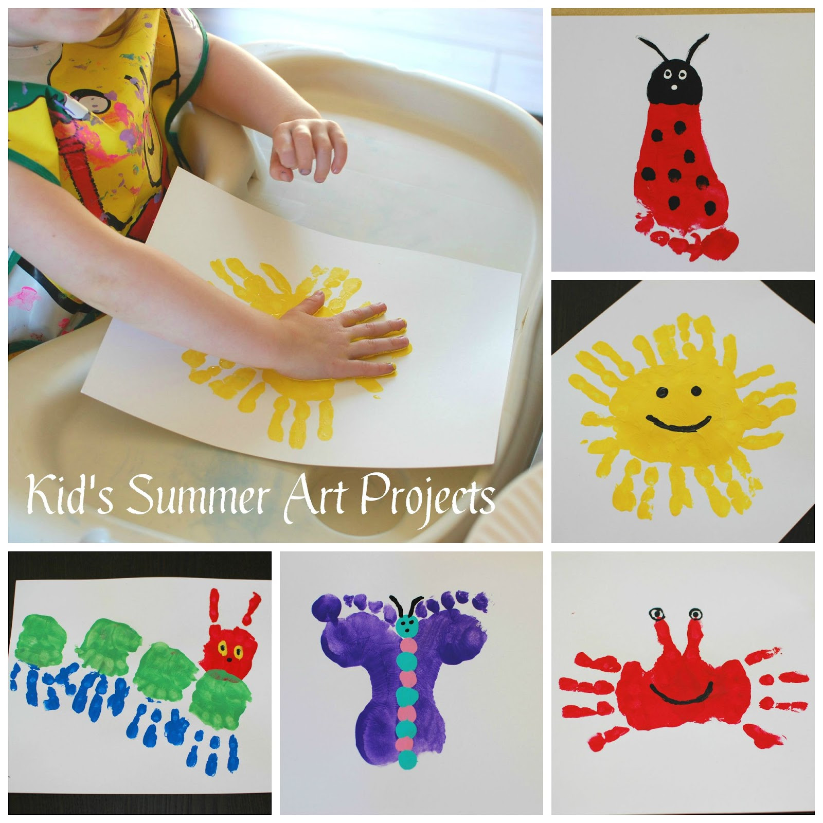 Summer Art Project For Kids  Pinkie for Pink Kid s Summer Art Projects