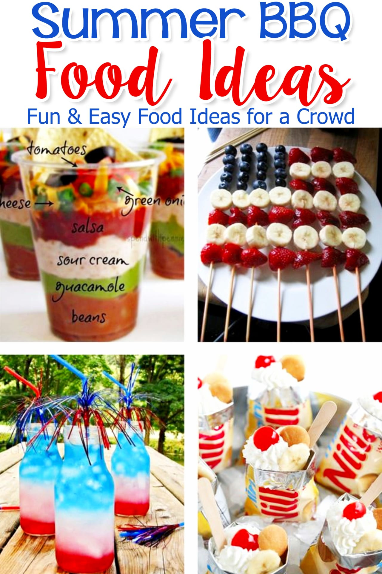 Summertime Party Food Ideas  Food Ideas for a BBQ Party EASY Summer Cookout Foods We Love