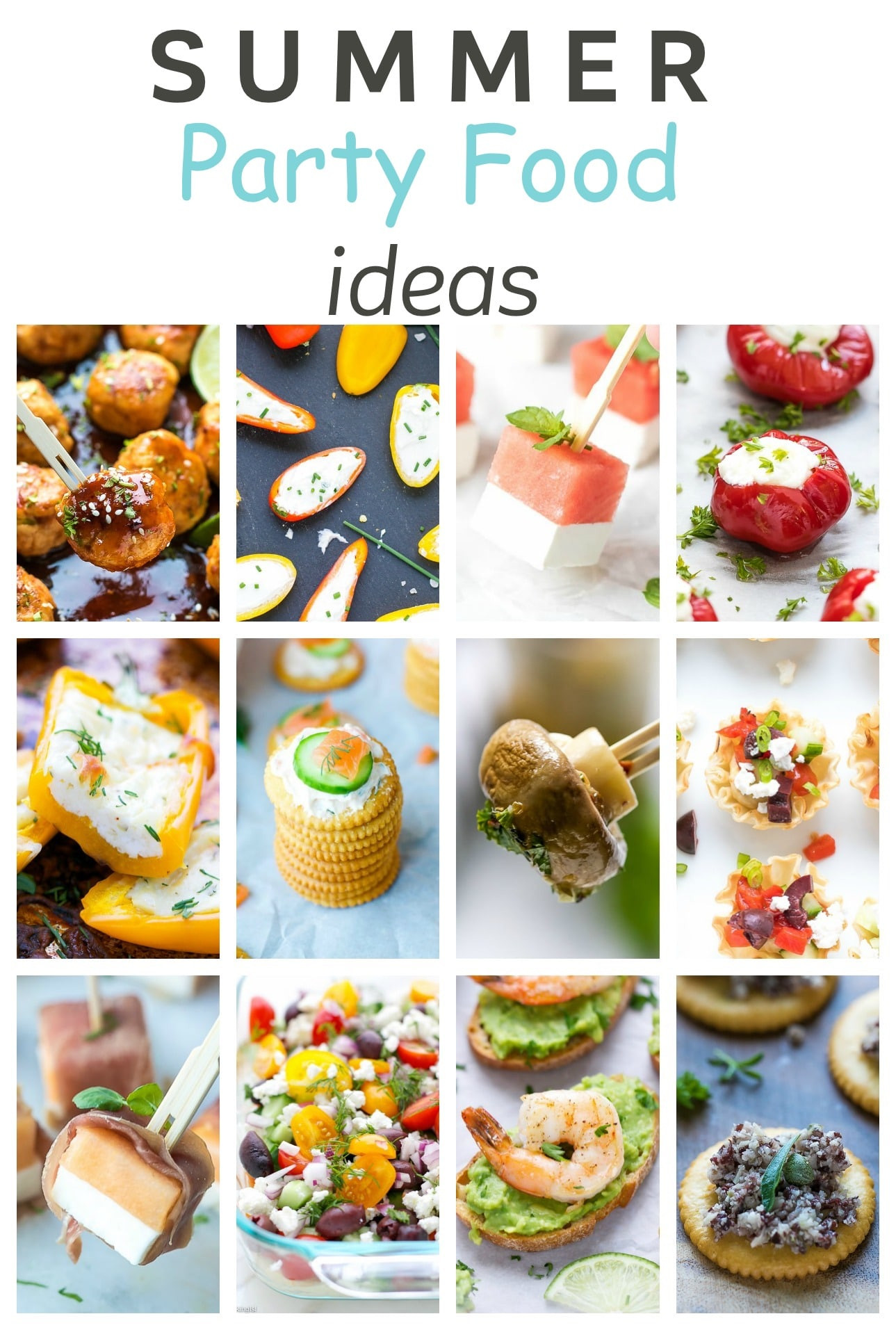 Summertime Party Food Ideas  Easy Summer Party Food Ideas Cooking LSL