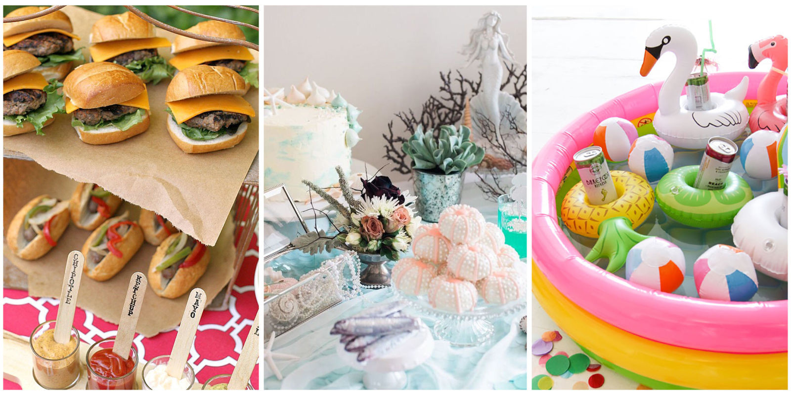 Summertime Party Food Ideas  Summer Party Ideas Summer Entertaining Decorations
