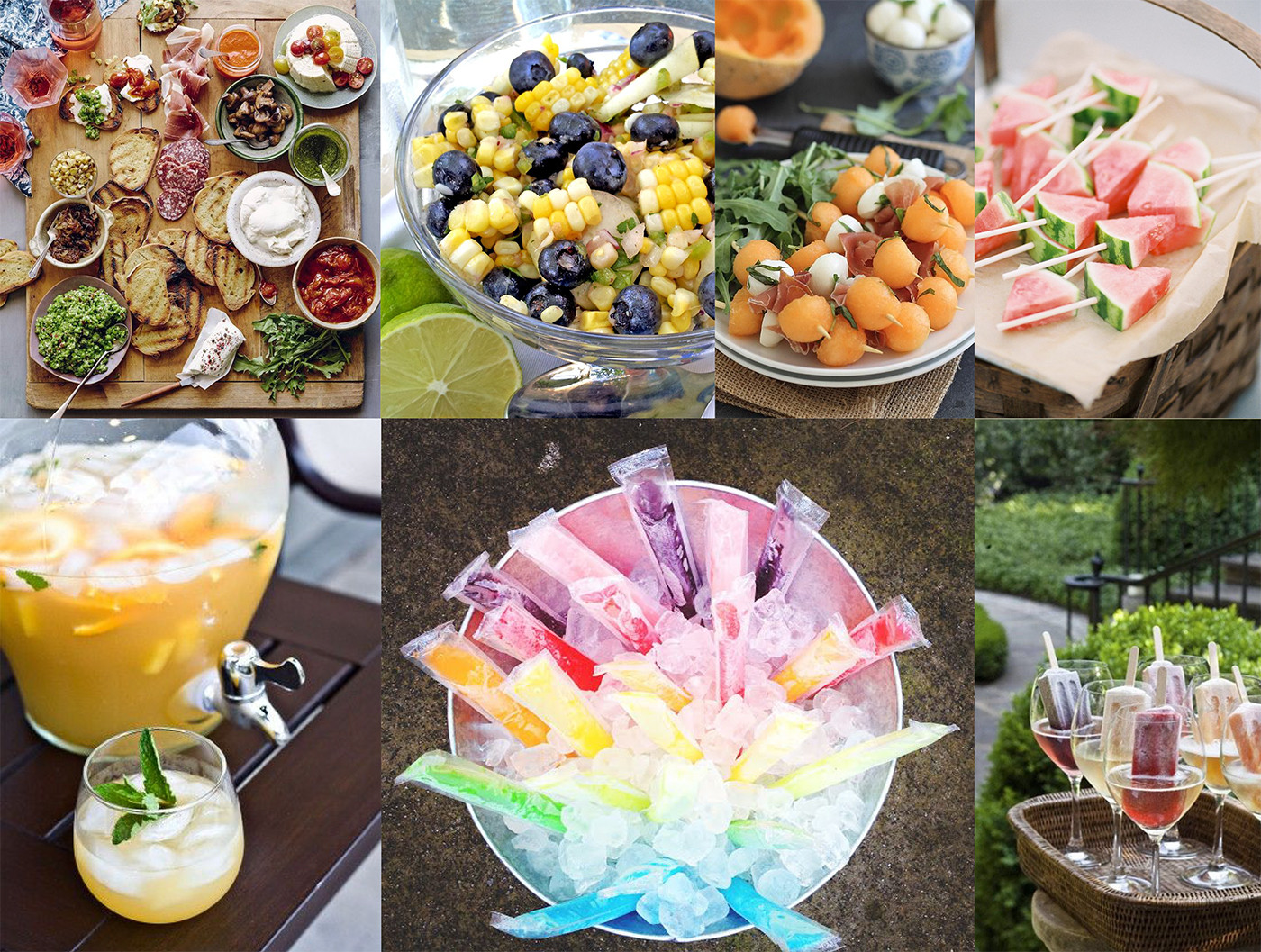 Summertime Party Food Ideas  Your Guide to Summer Entertaining – Brewster Home