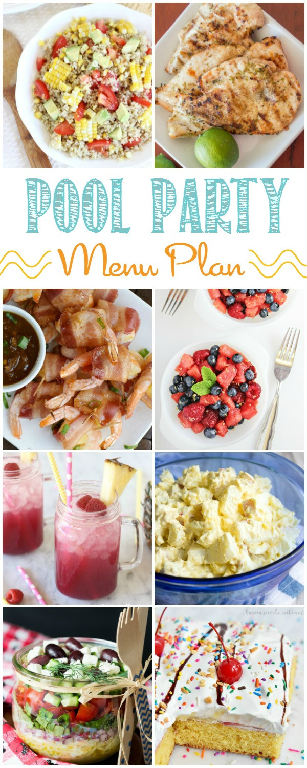 Summertime Party Food Ideas  12 Easy Summer Pool Party Menu Ideas Home Cooking Memories
