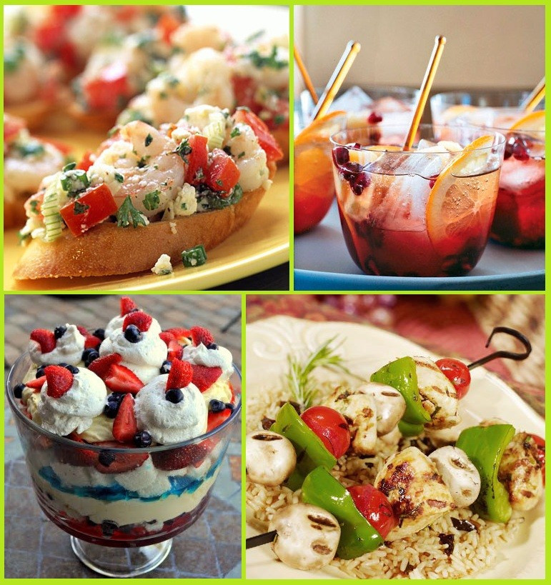 Summertime Party Food Ideas  24 Summer Party Food Ideas Memorial Day 4th of July
