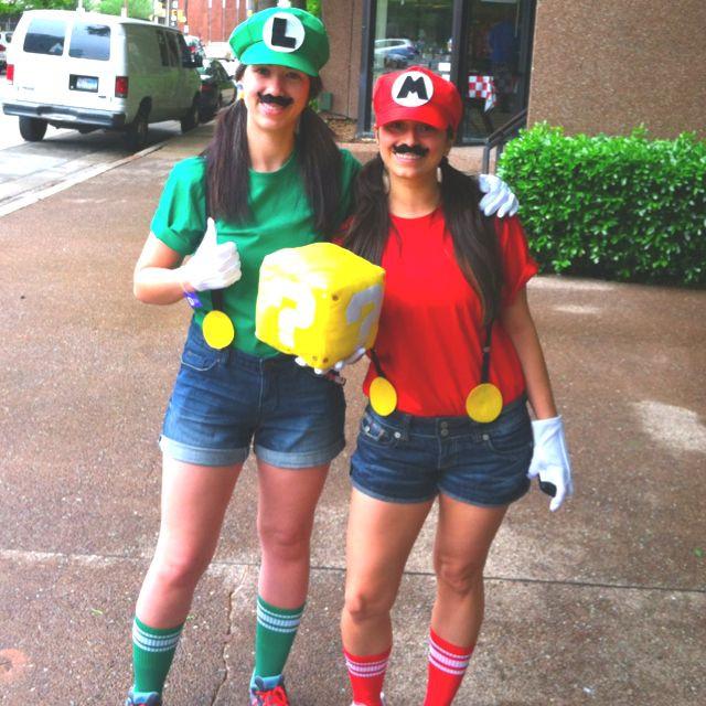 Super Mario Costume DIY  Mario & Luigi DIY Costumes Costumes