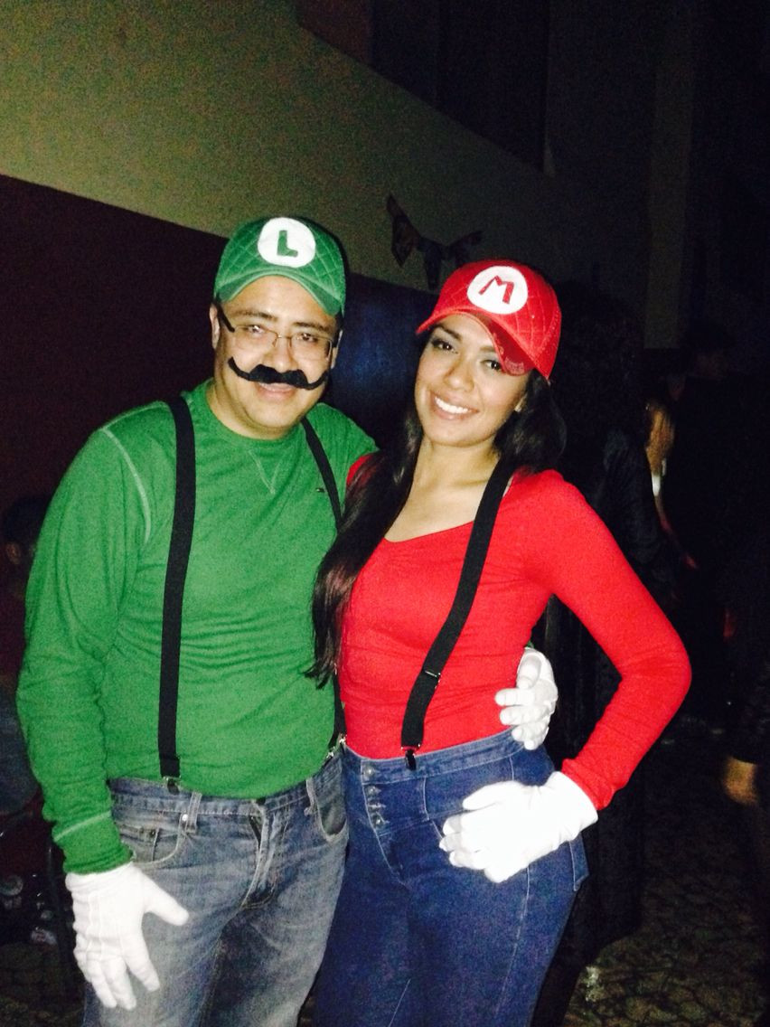 Super Mario Costume DIY  Mario Bros costume for couples …