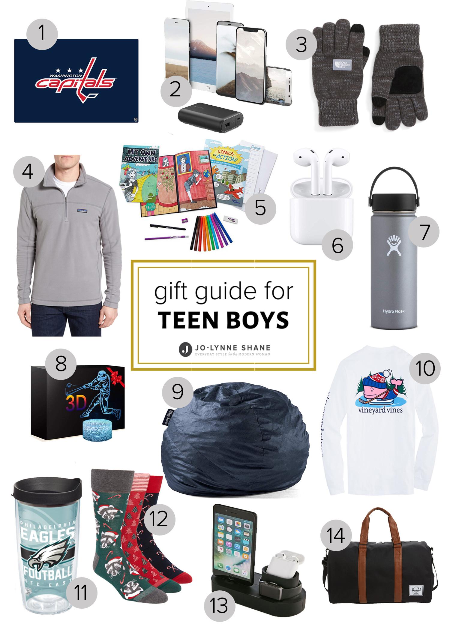 Teen Boys Gift Ideas  Holiday Gift Ideas for Teen Boys