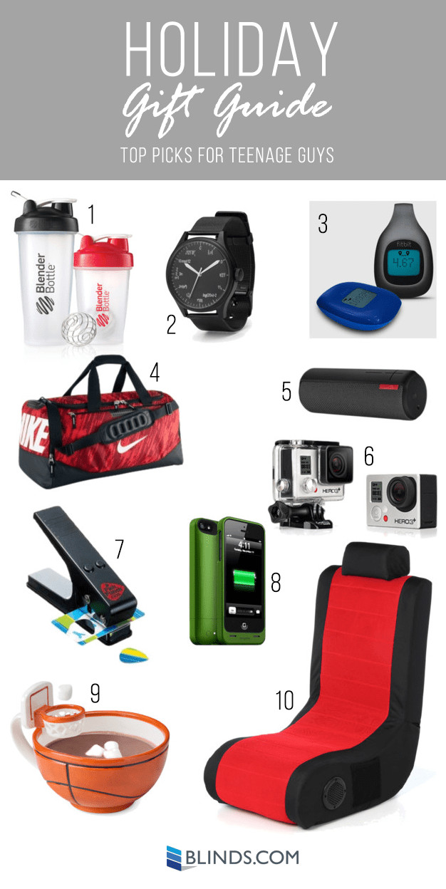 Teen Boys Gift Ideas  Holiday Gift Guides Gift Ideas for Teenagers The