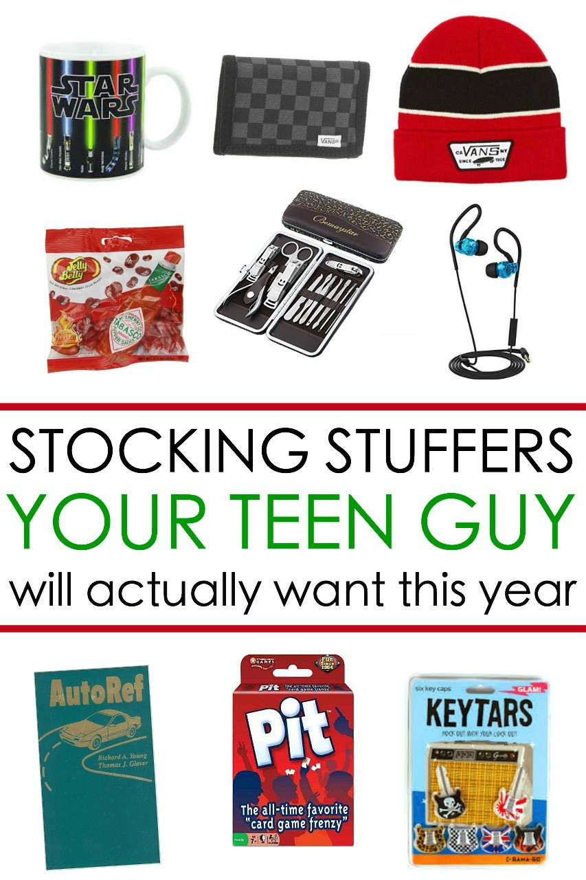 Teen Boys Gift Ideas  65 Awesome Stocking Stuffers for a Teen Guy Teen Boy Gift