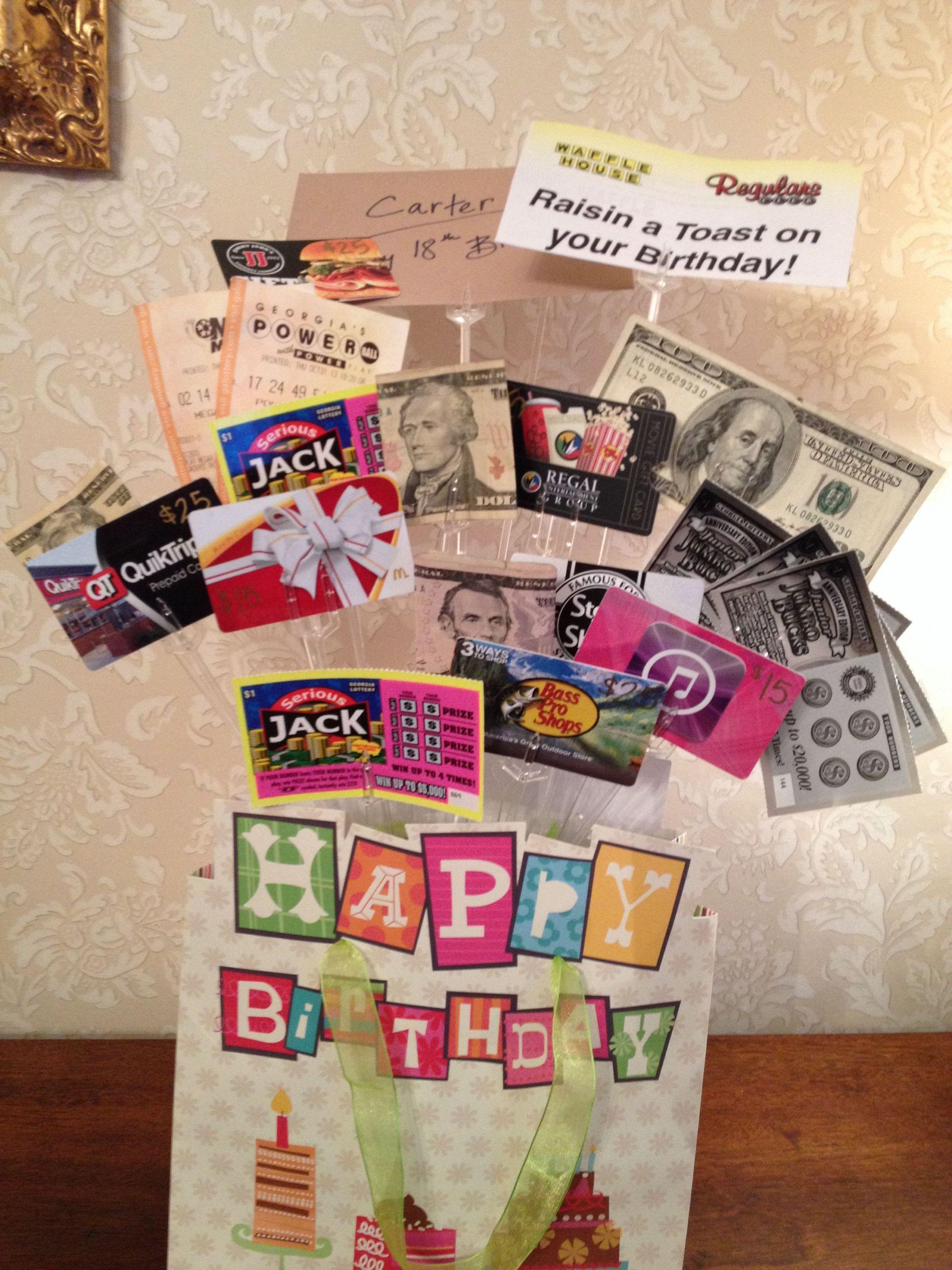 Teen Boys Gift Ideas  Teenage boy birthday t idea It was a big hit