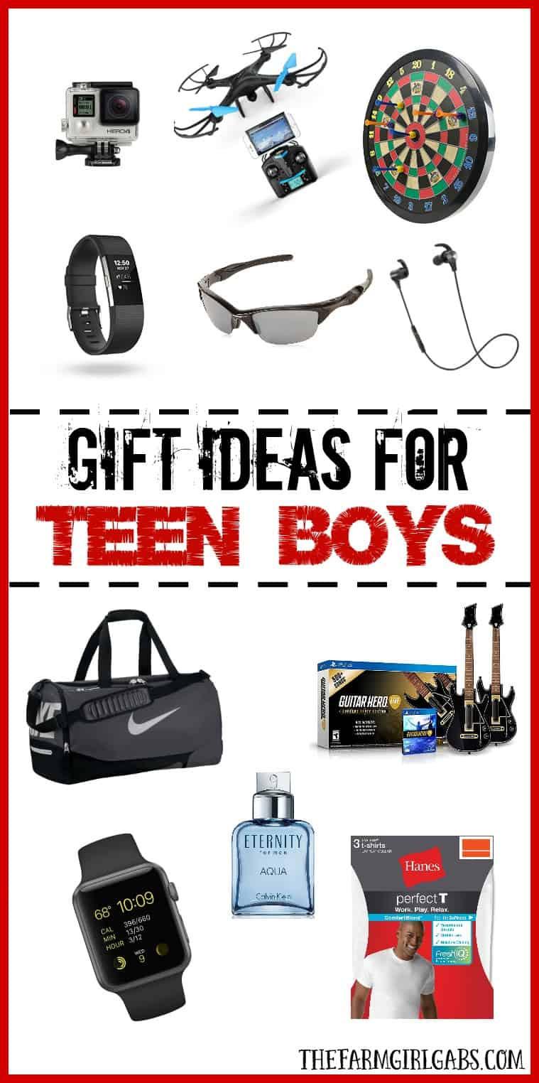Teen Boys Gift Ideas  Gift Ideas For Teen Boys The Farm Girl Gabs