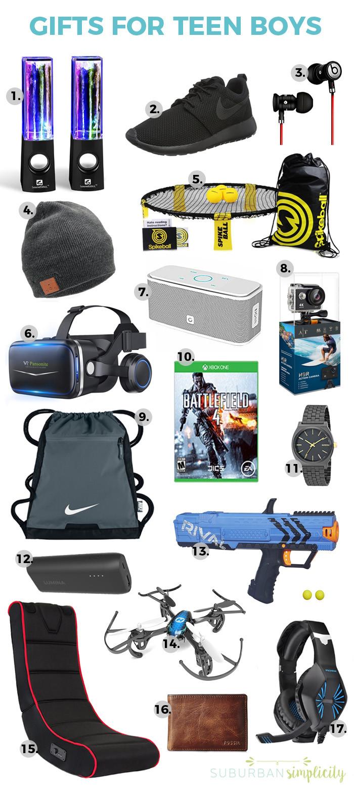 Teen Boys Gift Ideas  17 Awesome Gift Ideas for Teen Boys