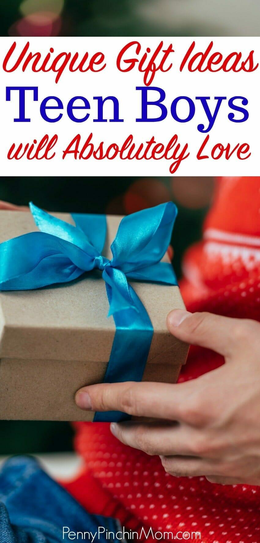 Teen Boys Gift Ideas  25 Teen Boy Gift Ideas Perfect for Christmas or Birthday